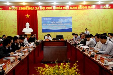 Hội nghị khuyến công Hà Giang