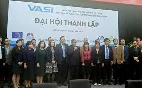 Hiệp hội Công nghiệp hỗ trợ Việt Nam (VASI) đã chính thức được thành lập.