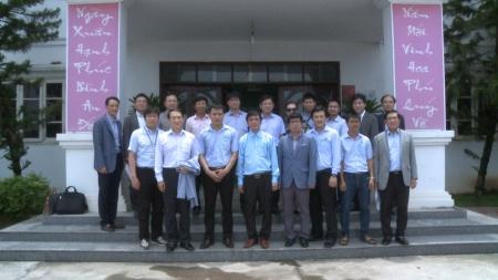 Tổng giám đốc Samsung Việt Nam đến thăm và làm việc với Thành Long
