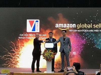 Vietrade bắt tay Amazon đẩy mạnh xuất khẩu qua thương mại điện tử