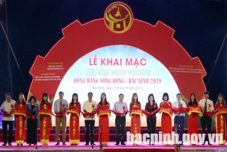 Khai mạc Hội chợ Công Thương Đồng bằng sông Hồng - Bắc Ninh 2019